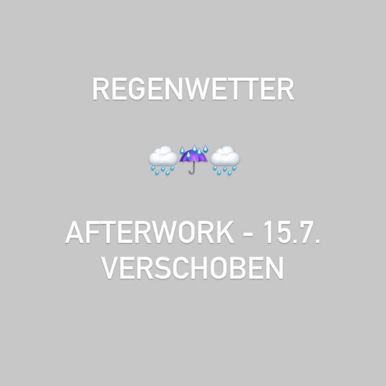 SCHREIBER'S Afterwork verschoben!